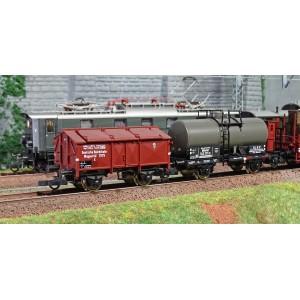 Roco 61492 Set complet train marchandises électrique série E 52 22 + wagons, DRG