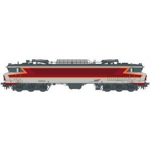 Ls Models 10330 Locomotive électrique CC 6534 SNCF, gris béton, livrée Arzens, logo casquette, Venissieux
