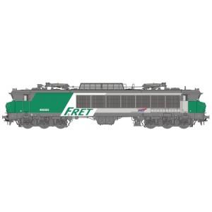 Ls Models 10332 Locomotive électrique CC 6553 SNCF, Maurienne, livrée FRET, logo casquette, Vénissieux