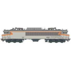 Ls Models 10333S Locomotive électrique CC 6568 SNCF, gris béton, orange, logo nouille, Lyon-Mouche, Digital sonore