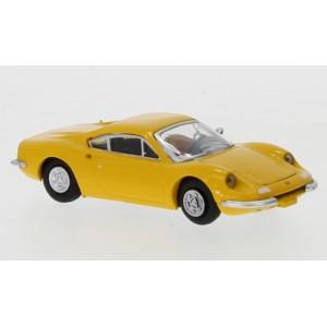 PCX 87 PCX870218 Ferrari Dino 246 GT, jaune
