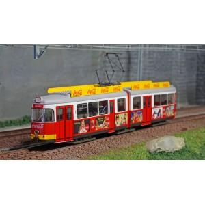 Rivarossi HR2756 Autorail Tram électrique, rouge/blanc, livré Coca-Cola, éte
