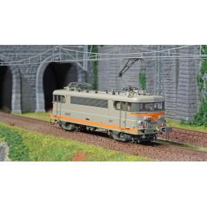 Ls Models 10219 Locomotive électrique BB 9497 SNCF, livrée béton/orange, logo nouilles