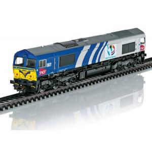 Trix 22696 Locomotive Diesel Class 66, SNCF, Fret Benelux, digitale sonore