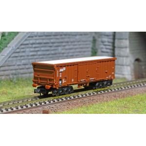 MiniTrix 18092 Wagons à toit enroulable Taes 892, DB, échelle N