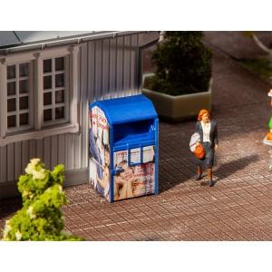 Faller 180992 Maquette, Conteneur à vêtements usagés, bleu