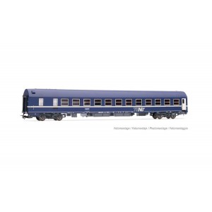 Jouef HJ4141 Voitures voyageurs wagon-lit MU 1973, SNCF, livrée TEN avec logo encadré, ep.IV
