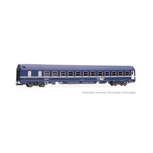 Jouef HJ4142 Voitures voyageurs wagon-lit MU 1973, SNCF, livrée TEN avec logo nouille, ep.IV