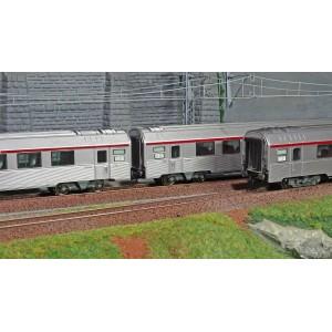 Jouef HJ4144 Set de 3 voitures voyageurs TEE L'Arbelète, SNCF, A8tu/A8u/A4TDux, ep.IV