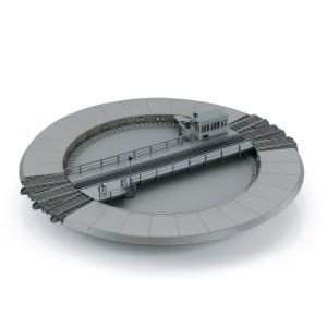 Trix 66861 Pont tournant motorisé pour voie C, digital sonore