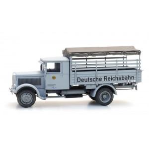 Artitec 387.463 Camion Chemin de fer allemand Hansa Lloyd Merkur