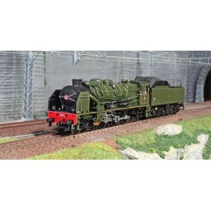 Roco 73079 Locomotive à vapeur 231 E, SNCF, digitale sonore