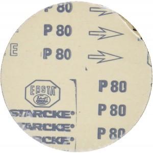 Disques de ponçage TG 125/E Proxxon - Grain 80 (x5 +1) 28160