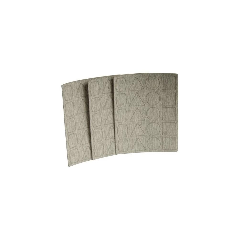 Feuilles abrasives de rechange pour PS 13 Proxxon - Grain 180 28822