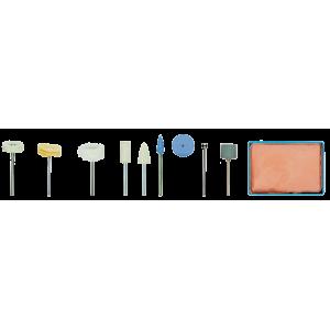 Set de polissage complet, 10 pièces Proxxon 28285
