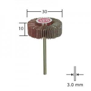 Meule à lamelles en grain normal, 30x10mm 28985