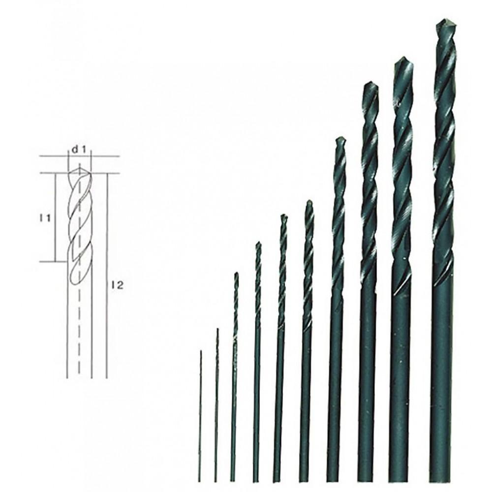 Forets en HSS, 10 pièces, 0,3 à 3,2 mm Proxxon 28874
