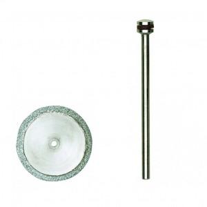 Disque à tronçonner diamanté 20mm + support Proxxon 28840