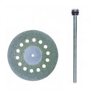 Disque à tronçonner diamanté avec aération 38mm + support Proxxon 28846