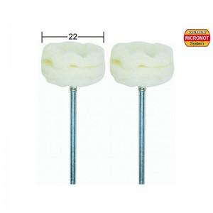 Disques à polir en feutre, Ø 22mm, 2 pièces Proxxon 28299