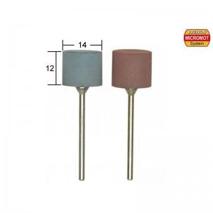 Polissoirs élastiques cylindriques, Ø 14mm, 2 pièces Proxxon 28295