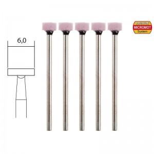 Meules en corindon, Ø 6mm (x5) Proxxon 28876