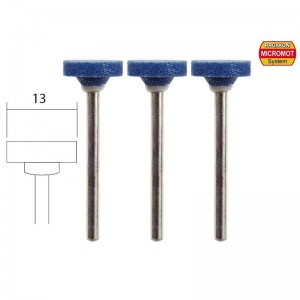 Meules en corindon, disque Ø 13mm (x3) Proxxon 28783
