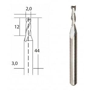 Fraise en métal dur Ø 2mm Proxxon 28759