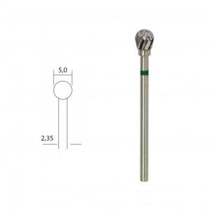 Fraise en métal dur Ø 5mm tête ronde Proxxon 28760