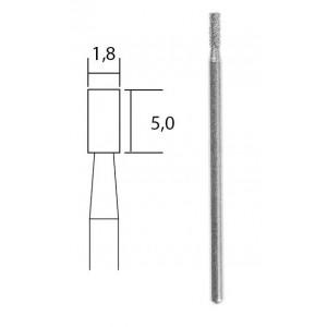Embout de meulage diamanté cylindrique Ø 1,8 mm Proxxon 28240