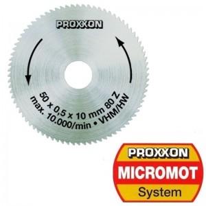 Lame de scie en métal dur plein 50 mm, 80 dents Proxxon 28011