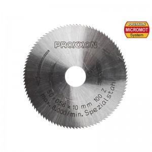 Lame de scie en acier à ressort 50 mm, 100 dents Proxxon 28020