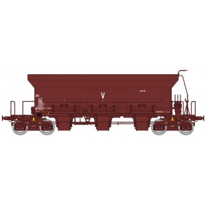 Ree modeles WB676 Wagon trémie à Ballast F70 Uas, SNCF, ep. IV-V