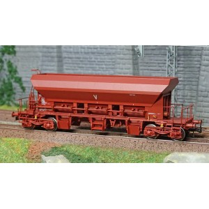 Ree modeles WB674 Wagon trémie à Ballast F70 Uas, SNCF, ep. IV