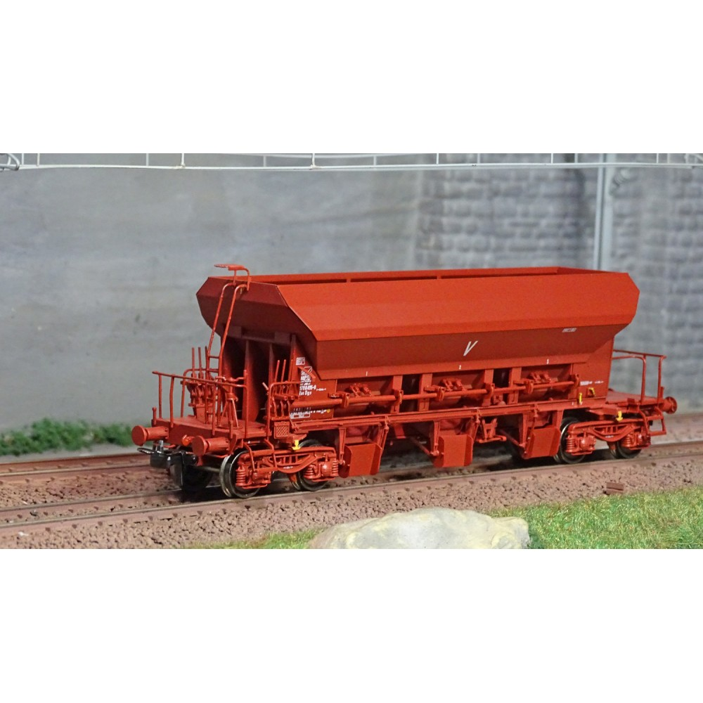 Ree modeles WB675 Wagon trémie à Ballast F70 Uas, SNCF, ep. IV