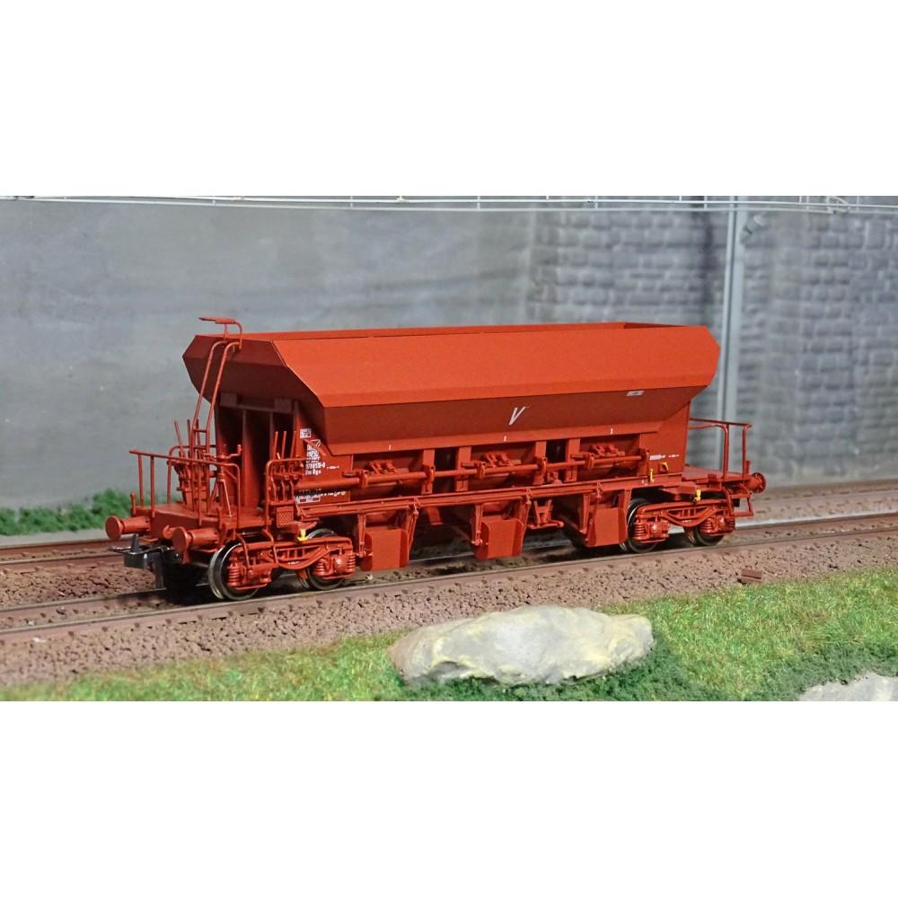 Ree modeles WB677 Wagon trémie à Ballast F70 Uas, SNCF, ep. IV-V