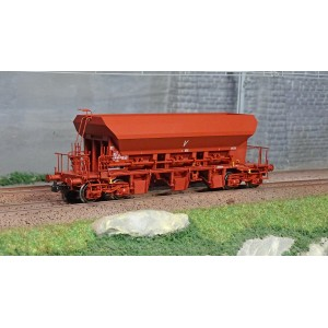 Ree modeles WB680 Wagon trémie à Ballast F70 Uas, SNCF, ep.V