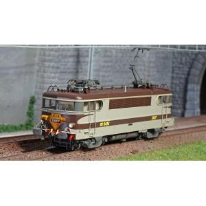 Ls Models 10216.S Locomotive électrique BB 9496 SNCF, livrée Arzens, logo beffara jaune, digital sonorisée
