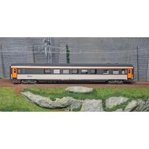 LS Models 40342 Voiture voyageur Vru-Sru Club 34, Corail, Logo nouille, cartouche voit. Club 34