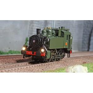 Ree Modeles MB105 Locomotive à vapeur 030 TU SNCF 74 Ouest, Gas-Oil, Annemasse
