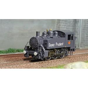 Ree Modeles MB044 Locomotive à vapeur 030 TU SNCF 5 Est, ILE NAPOLEON, Sécurité D'abord