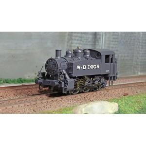 Ree Modeles MB041 Locomotive à vapeur 030 TU WD-1405 Brussels, War Department