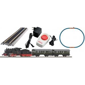 Piko 97933 Coffret de départ analogique avec locomotive vapeur PKP et 2 voitures voyageurs