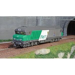 """Jouef HJ2602 Locomotive diesel CC 72000, SNCF, livré """"FRET"""""""