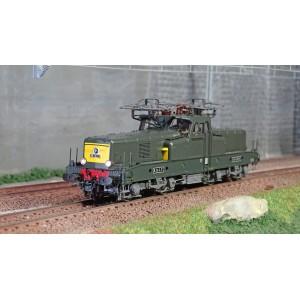 Jouef HJ2338 Locomotive électrique BB 12079, SNCF, livrée vert / jaune