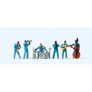 Preiser 10112 Personnages, Groupe de musiciens Jazz
