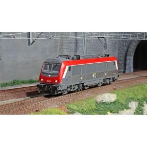 Jouef HJ2397S Locomotive électrique BB 36005, SNCF, livré rouge / gris, Charleroi / Hirson, digital sonore