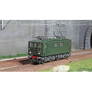 Jouef HJ2385S Locomotive électrique BB 1600, SNCF, livré vert, digital sonore