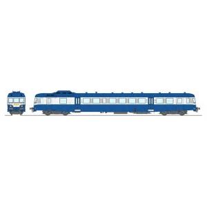 Ree Modeles MB163.S Autorail X 2816 version modernisé, Bleu et Blanc, Lyon-Vaise, SNCF, logo relief, digital sonore