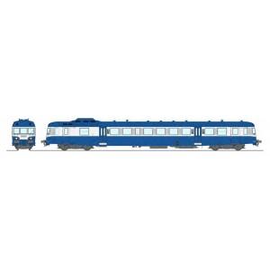 Ree Modeles MB164 Autorail X 2805 version modernisé, Bleu et Blanc, Limoges, SNCF, logo nouille